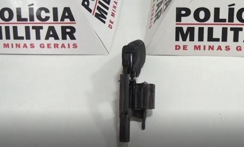 Polícia Militar apreende arma de fogo sem documentação no Bairro Zacarias