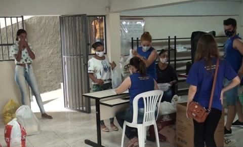 Grupo Espírita Dias da Cruz realiza doações no dia das crianças