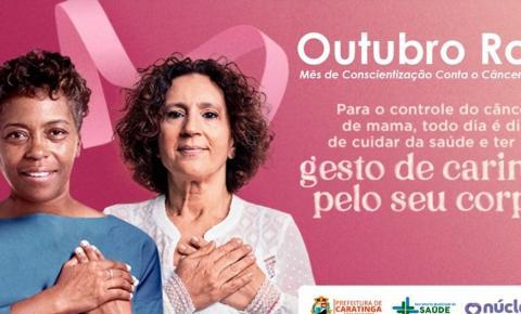 Núcleo do câncer promove ação para incentivar a prevenção do câncer de mama