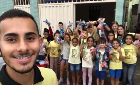 PROJETO SOCIAL SOMBRA E ÁGUA FRESCA REALIZA ARRECADAÇÃO PARA CAMPANHA DE NATAL
