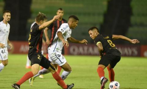 Santos empata com Deportivo Lara e avança na pré-Libertadores