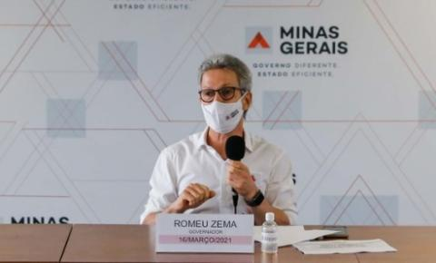 Romeu Zema anuncia medidas de apoio econômico a famílias de baixa renda, comerciantes, empresas e municípios