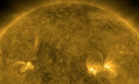 Maior explosão solar dos últimos 4 anos é registrada pela NASA