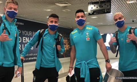 Seleção masculina chega à Sérvia para preparação para Jogos de Tóquio