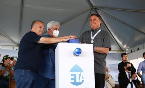 Bolsonaro participa de inauguração em Uberlândia, em Minas Gerais
