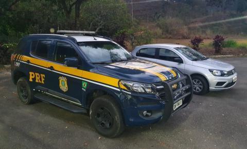 PRF recupera, em Realeza, veículo roubado em Belo Horizonte