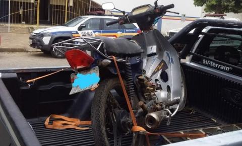 Polícia Militar recupera moto furtada e prende autor em Ipanema