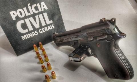 Polícia Civil abre inquérito para investigar crime de posse ilegal de arma de fogo em Revés do Belém