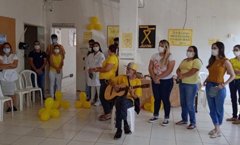 Ações na ESF do bairro Anápolis reforçam a importância e preservação da vida