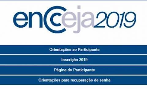 ENCCEJA 2019 está com inscrições abertas