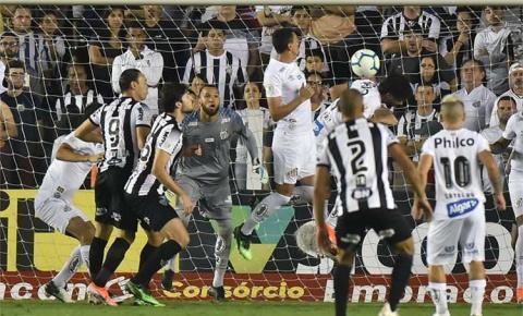 Rodrigo Santana atribui revés do Atlético para o Santos a passividade na etapa inicial