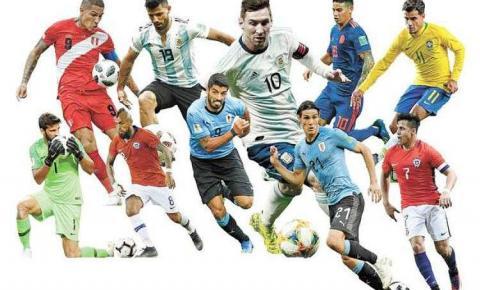Messi puxa a fila de grandes astros que jogarão a Copa América no Brasil