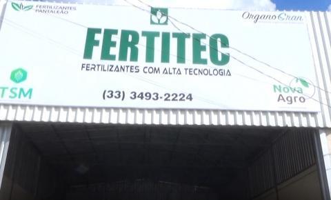 Empresa especializada em fertilizantes inaugura loja em Caratinga.