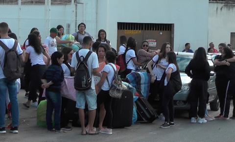 Alunos das escolas estaduais de Caratinga vão para Governador Valadares para participar da etapa regional do JEMG
