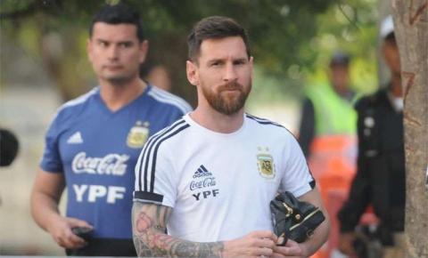 No último dia em BH, Argentina treina no Independência após derrota para o Brasil