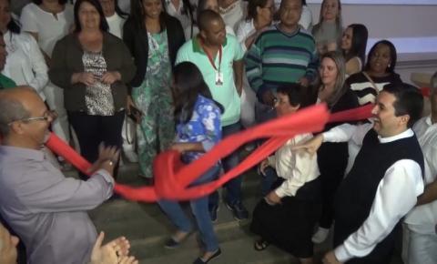 Abraço solidário ao Hospital Nossa Senhora Auxiliadora marca a sonhada reabertura da unidade de saúde