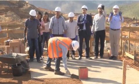 Novo Bento Rodrigues começa a ser construído em Mariana