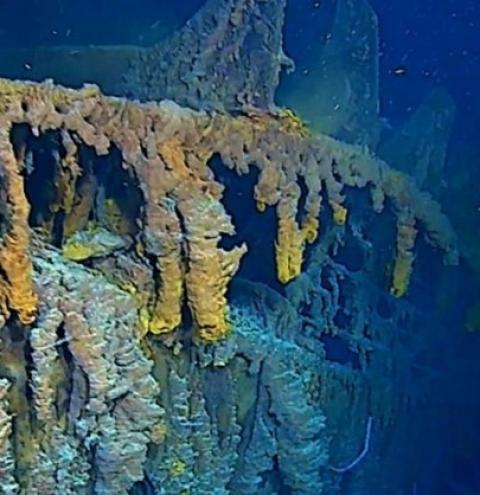 Titanic é registrado pela 1ª vez em 4K; veja como ele está hoje
