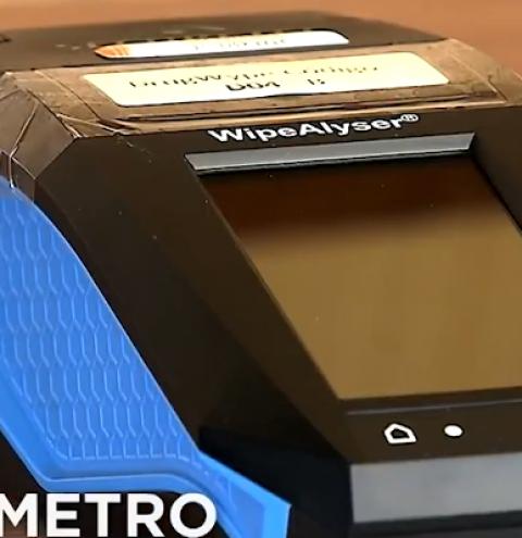 PRF testa equipamento que detecta uso de drogas em motoristas